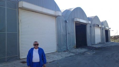 Tο εργοστάσιο μηχανικής-βιολογικής επεξεργασίας απορριμμάτων και ο δ/ντής της Διαδημοτικής κ. Kώστας Γαλιατσάτος