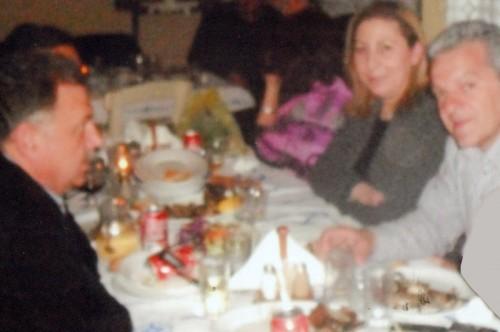 Οι υπουργός κ. Μ. Ξενογιαννακοπούλου με τον βουλευτή κ. Σπ. Μοσχόπουλο και τον τ. νομάρχη κ. Δ. Γεωργάτο